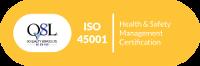 ISO QSL Cert - ISO 45001