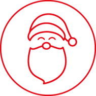 ATF Santa Icon - Red 230x230